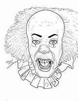 Pennywise Coloring Pages Clown Colouring Sheets Halloween Horror Printable Creature Adult Scary Lagoon Bing Cool Books Drawing Drawings Getcolorings Print sketch template
