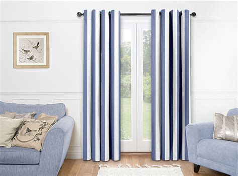 Nautical Living Room Drapes
