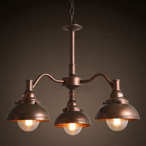 industrial light chandelier antique 3 light industrial type small dining room chandeliers