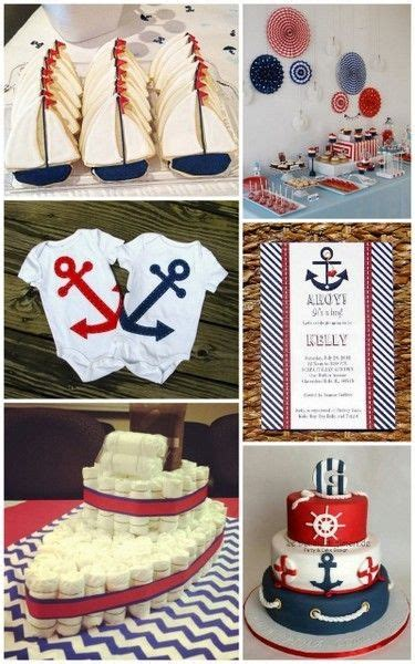 nautical baby shower ideas  hotrefcom