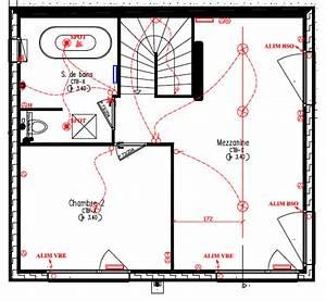 Superbe plan electrique salle de bain 0 plan for Plan electrique salle de bain