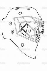 Mask Hockey Vector Coloring Goalie Jason Template Illustration Nhl Masks Printable Outline Chisnikov Depositphotos Getcolorings Colourbox Getdrawings Nikita sketch template