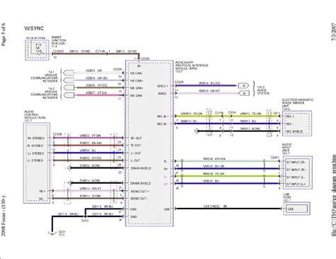 ford ka radio wiring diagram somurich