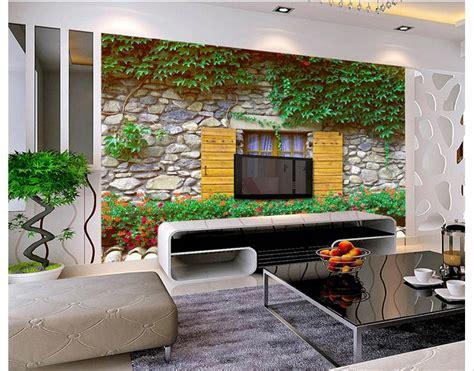customized  wallpaper  tv wall paper murals rural