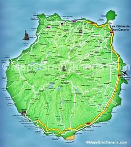 Maps Gran Canaria Gran Canaria Kaart