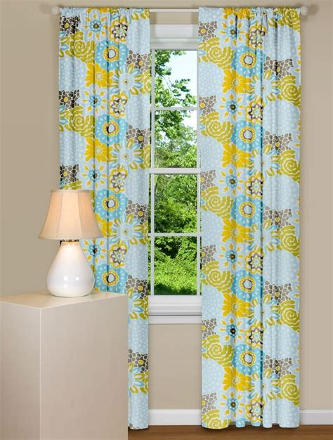 yellow floral drapes 17 best ideas about yellow curtains on yellow