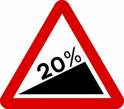 Steep Sign Road Signs Ascent Warning Mauritius