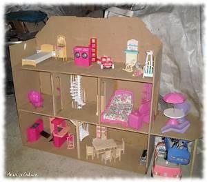 Construire Une Maison De Barbie En Carton Ventana Blog