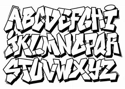 Graffiti Alphabet Text Writing Schrift