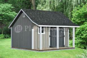 tifany look shed plans 8x12 with porch