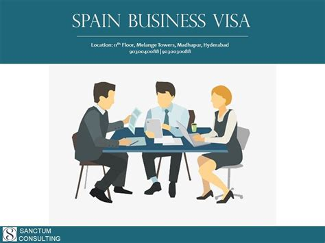 spain business visa requirements application  fees