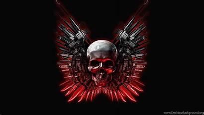 Skull Background Desktop
