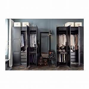 Begehbarer Kleiderschrank Ikea Pax : pax kleiderschrank schwarzbraun undredal schwarz wohnungsideen pinterest kleiderschrank ~ Orissabook.com Haus und Dekorationen