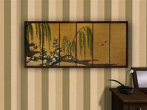 japanese wall panels free japanese panels that are widely With best brand of paint for kitchen cabinets with asian silk screen wall art