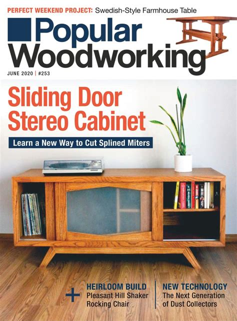 popular woodworking june   magazines lib