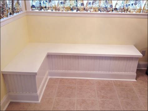 diy kitchen bench with storage make your own bench seat and save space in your kitchen 8753