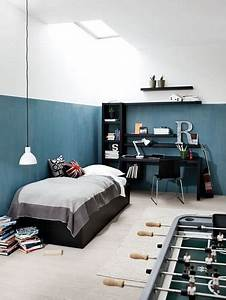 Chambre Ado Garçon : id e peinture chambre gar on ado d co ~ Melissatoandfro.com Idées de Décoration