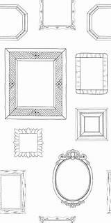 Coloring Claim Frame sketch template