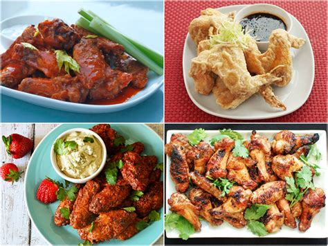 super bowl wing recipes    game day fly  eats
