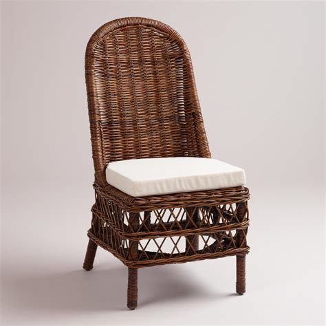 rattan woven chairs set of 2 world market