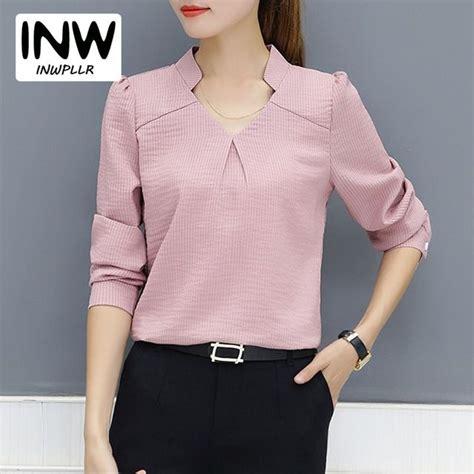 arrival women blouse autumn work wear office