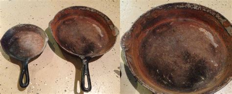 refurbishing rusted cast iron cookware  gravity ascents