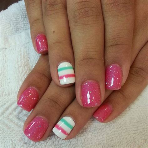 manicure with design 30 simple nail designs for summers inspiring nail