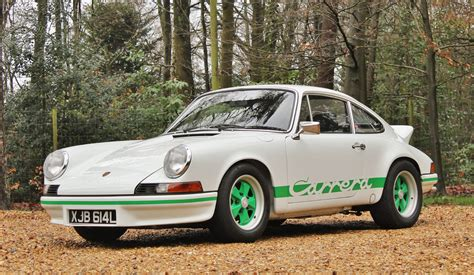Porche 911 Rs by Original Porsche 911 Rs 2 7 Heads To Auction
