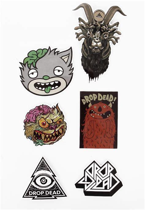 Drop Dead by Drop Dead Mascot Sticker Pack Impericon Worldwide
