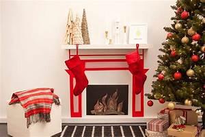 Weihnachtsmann Basteln Aus Pappe : weihnachten am kamin dekokamin aus pappe basteln diy ~ Haus.voiturepedia.club Haus und Dekorationen