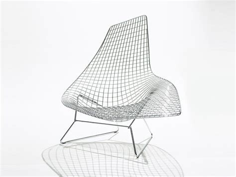 bertoia chaise buy the knoll studio knoll bertoia asymmetric chaise at nest co uk