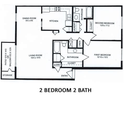 2 bedroom 2 bath columns of castleton located on the northeast side of 13925 | columnsofcastleton 2 bedroom 2 bath