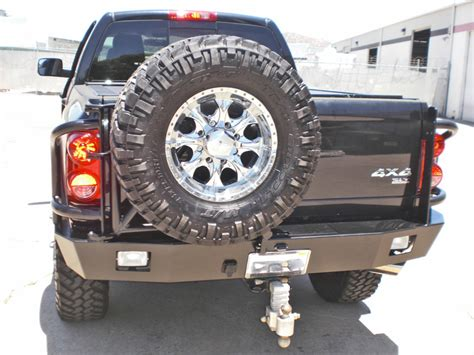 dodge ram rear bumper   aluminess