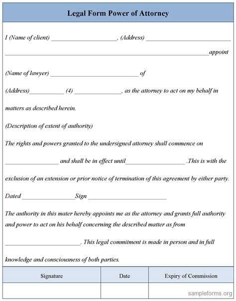 legal forms for lawyers power of attorney letter exles best mesothelioma lawyers