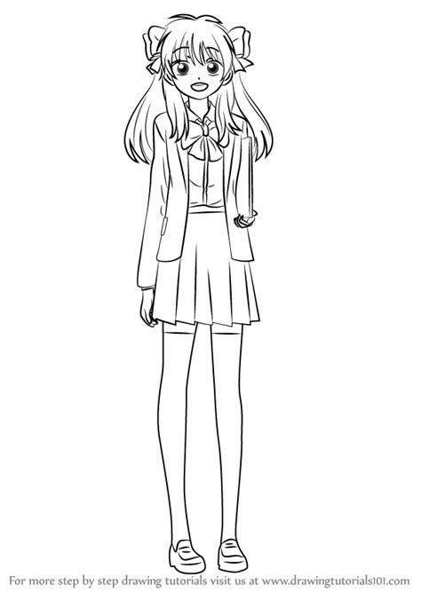 learn   draw chiyo sakura  gekkan shoujo nozaki