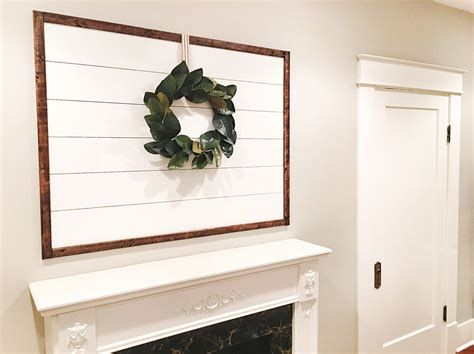 Framed Shiplap nine fixer style shiplap ideas yesterday on tuesday