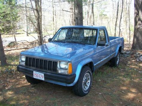 jeep comanche 4x4 buy used 1989 jeep comanche mj 4x4 long bed automatic in