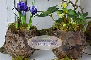 Frühlingsdeko Selber Basteln : fr hlingsdeko bertopf aus laubbl tter f r fr hlingsbl her youtube ~ Markanthonyermac.com Haus und Dekorationen