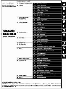 2006 Frontier D40 Service And Repair Manual