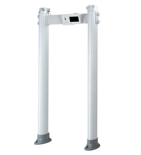 Portable Full Body Metal Detectors Universal Wheel For