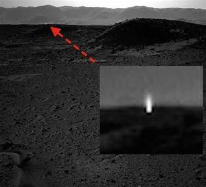 UFO, cosmic ray or flasher? NASA rules on Curiosity ...