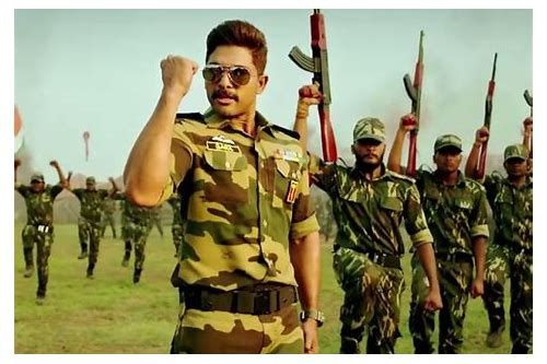 telugu naa peru surya nile india movie download
