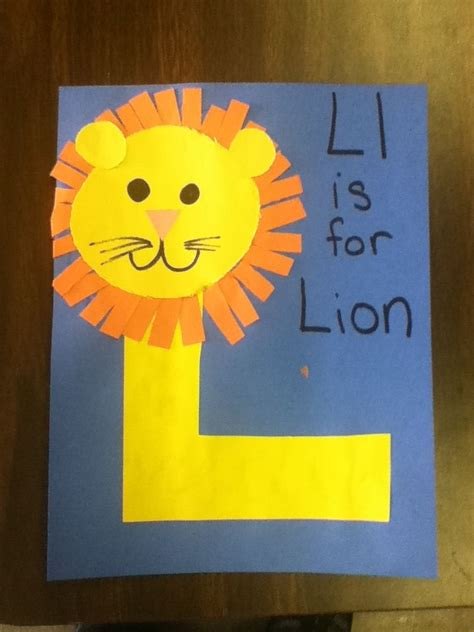 letter l easy craft for preschool kidscrafts 179 | da712ece8dffc457d2de35c01b97eaa5