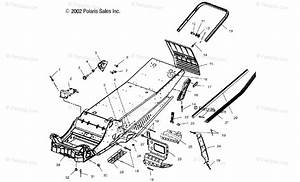 Polaris Snowmobile 2003 Oem Parts Diagram For Chassis