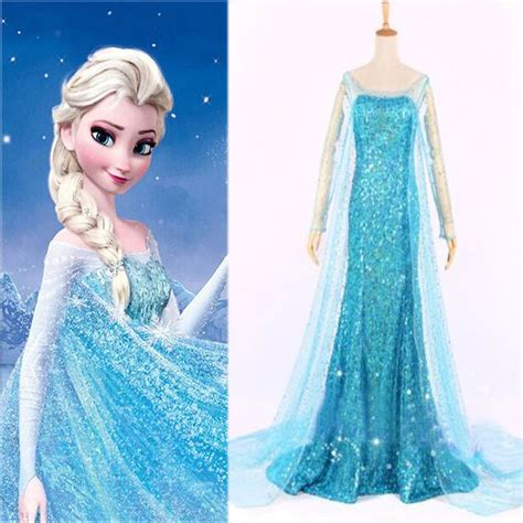 Mukena Frozen Elsa Size Xl frozen elsa princess evening dress