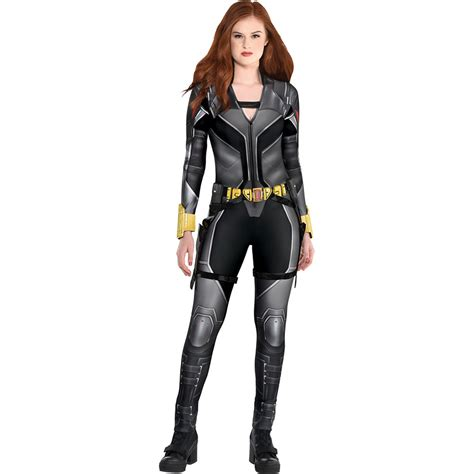 Black Widow Costume For Adults Black Widow Movie Party