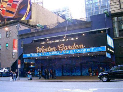 winter garden theater nyc winter garden theatre