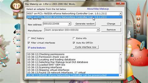 amac address change hacking tip change your mac address