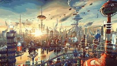 Futurama 3d Breathtaking Futuristic Open Sandbox Future