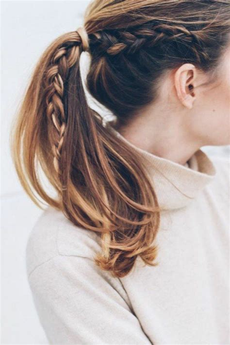 25 best ideas about coiffure facile on easy hair up tuto coiffure and coiffure simple